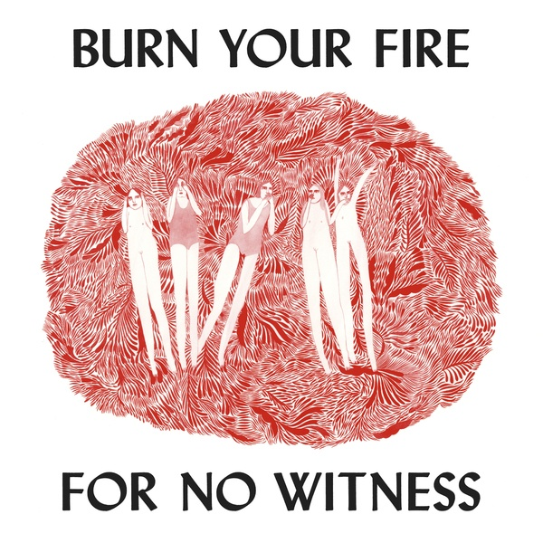 Cover ANGEL OLSEN, burn your fire for no witness