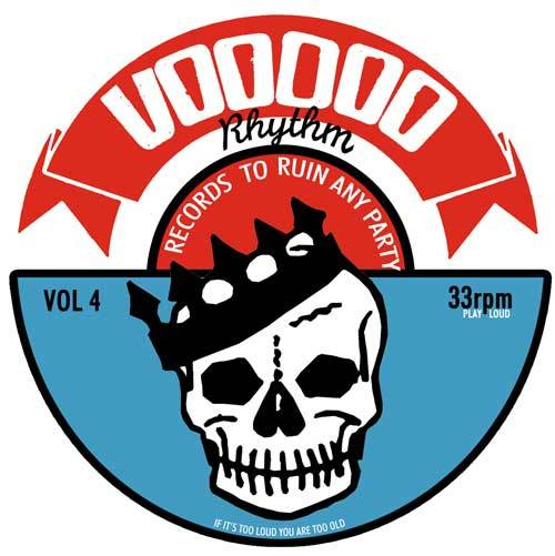 V/A, voodoo rhythm compilation vol. 4 cover
