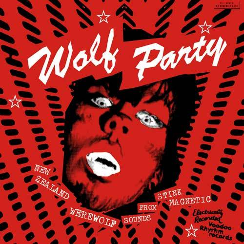 Cover V/A, wolf party