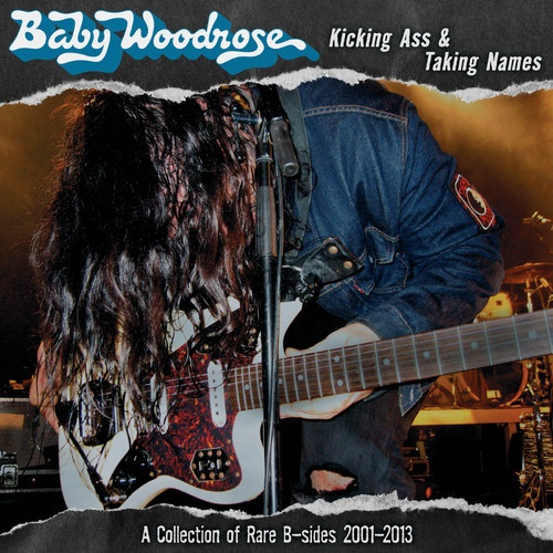 BABY WOODROSE, kicking ass & taking names cover