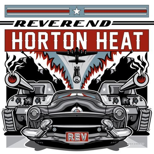 Cover REVEREND HORTON HEAT, rev