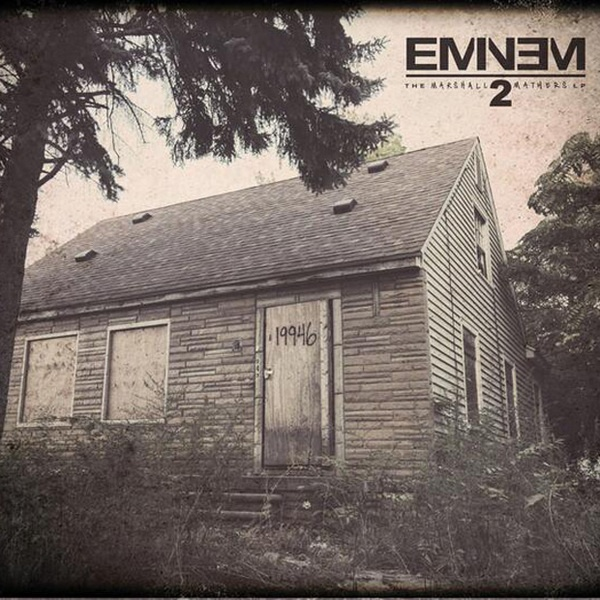 Cover EMINEM, marshall mathers II