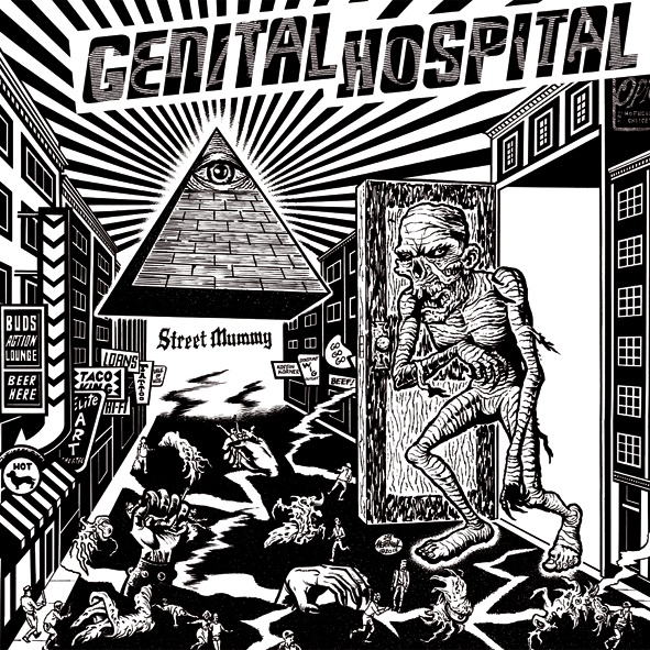 Cover GENITAL HOSPITAL, street mummy