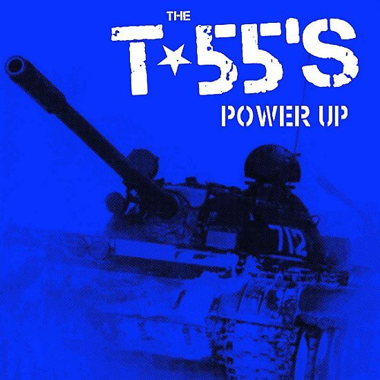 Cover T-55´S, power up
