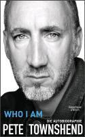 PETE TOWNSHEND, who i am cover