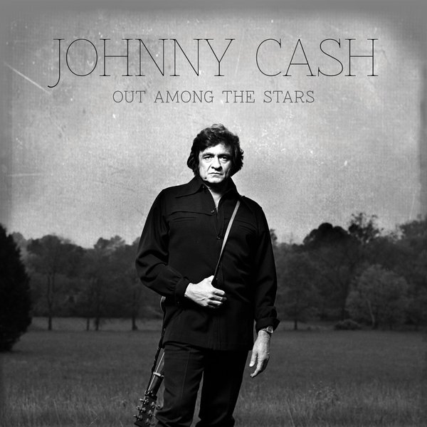 Cover JOHNNY CASH, out among the stars