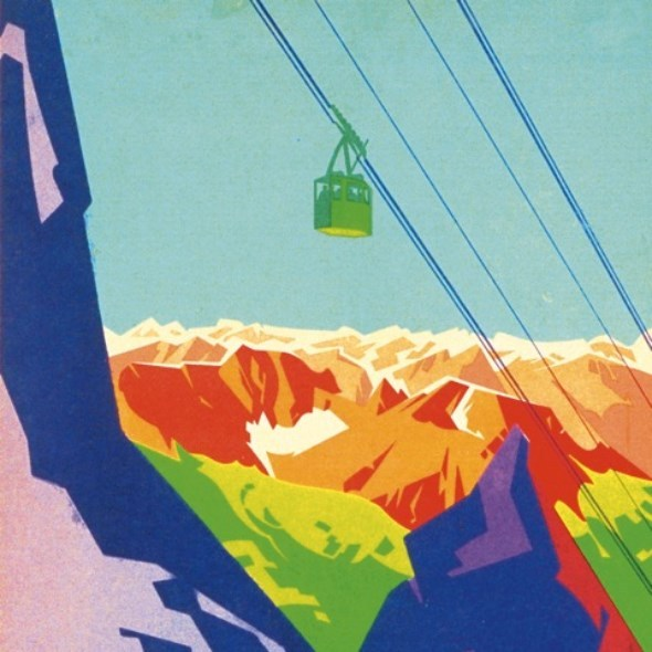 KREISKY, blick auf die alpen cover