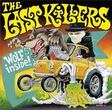 Cover LAST KILLERS, wolf inside