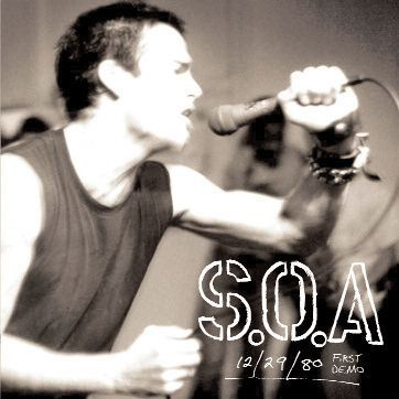 S.O.A., first demo cover