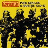 Cover EXPLOITED, punk singles & rarities 1980-83