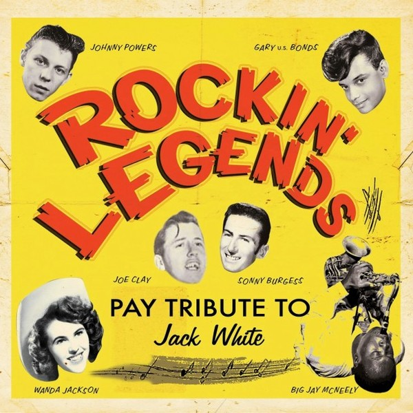 Cover V/A, rockin´ legends pay tribute to jack white