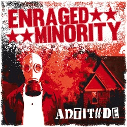 Cover ENRAGED MINORITY, antitude