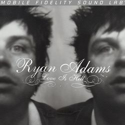 RYAN ADAMS, love is hell cover