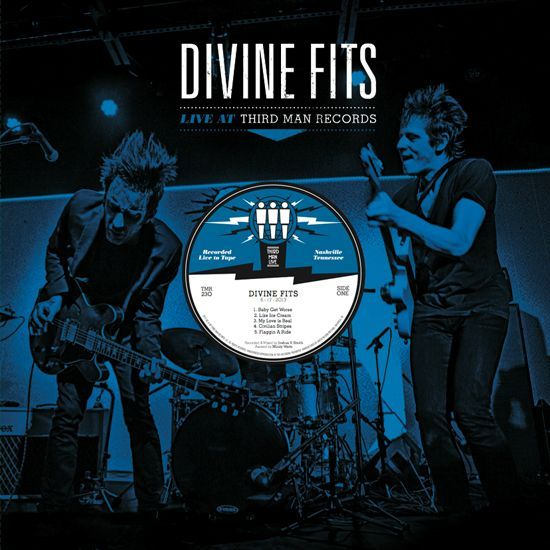 Cover DIVINE FITS, third man live 6-17-2013