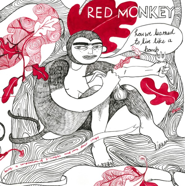 Cover RED MONKEY, how we learned to live like a bomb