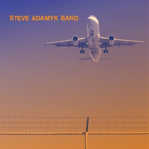 Cover STEVE ADAMYK BAND, high above