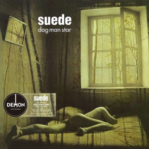 SUEDE, dog man star cover