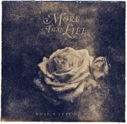 Cover MORE THAN LIFE, what´s left of me
