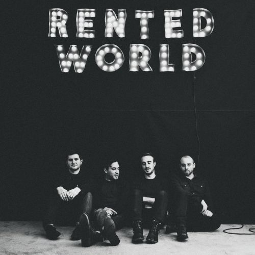 Cover MENZINGERS, rented world