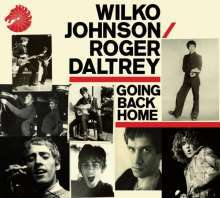Cover WILKO JOHNSON & ROGER DALTREY, going back home