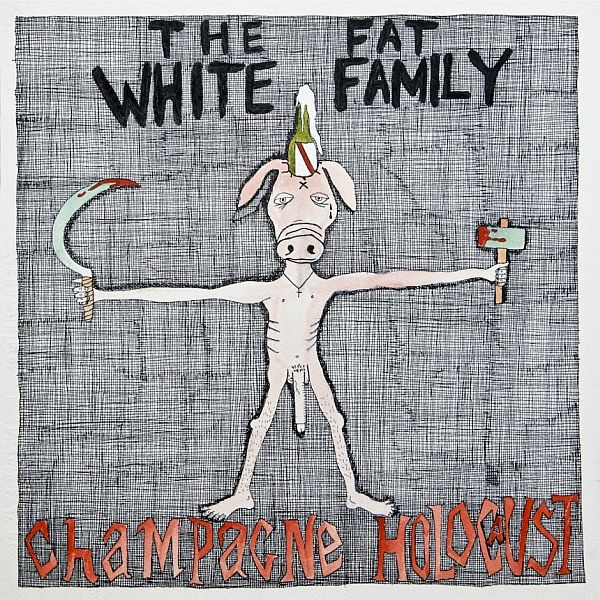 Cover FAT WHITE FAMILY, champagne holocaust