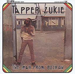 Cover TAPPER ZUKIE, the man from bozrah