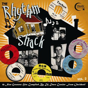 V/A, rhythm shack vol. 2 cover