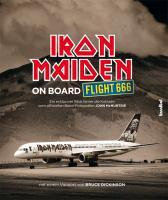 Cover IRON MAIDEN, on board flight 666 - das offizielle buch