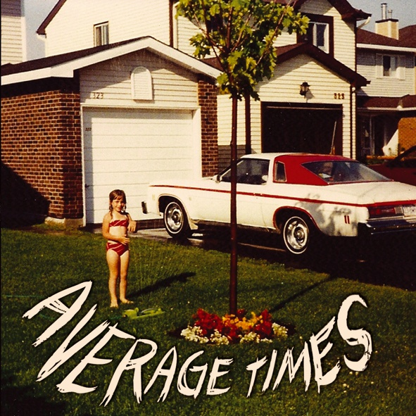 Cover AVERAGE TIMES, s/t