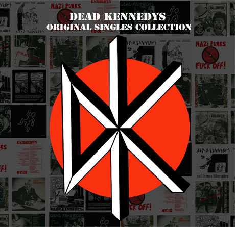 Cover DEAD KENNEDYS, original singles collection