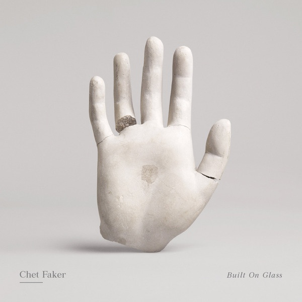CHET FAKER, built on glass cover