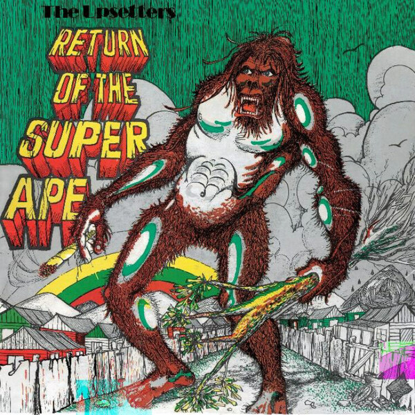 Cover LEE SCRATCH PERRY & UPSETTERS, return of the superape