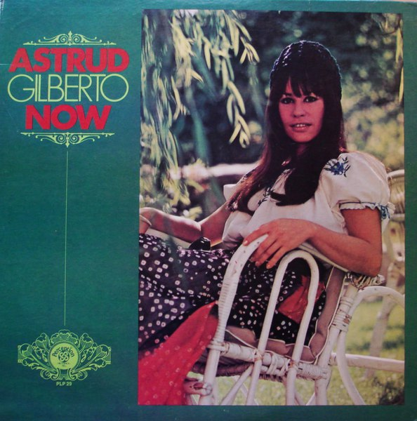 Cover ASTRUD GILBERTO, now
