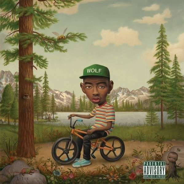 TYLER THE CREATOR, wolf cover