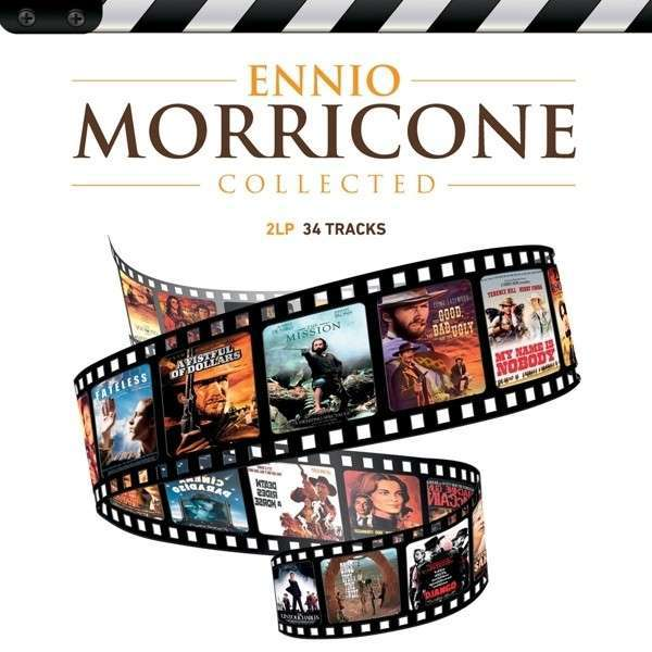 Cover ENNIO MORRICONE, collected