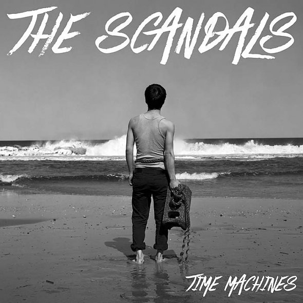 SCANDALS, time machines cover