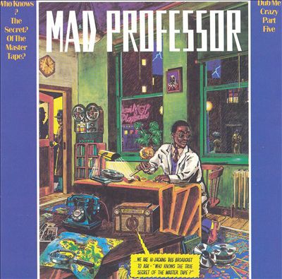 Cover MAD PROFESSOR, dub me crazy vol. 5 (who knows the secrets of)