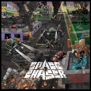 SPACE CHASER, watch the skies cover
