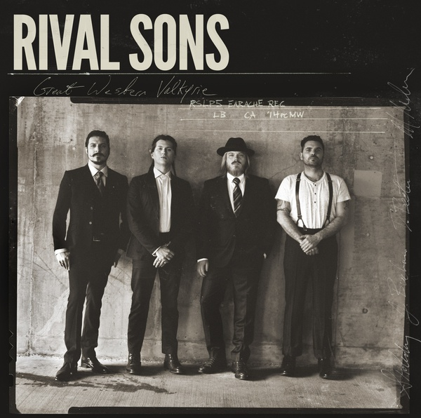 Cover RIVAL SONS, great western valkyrie
