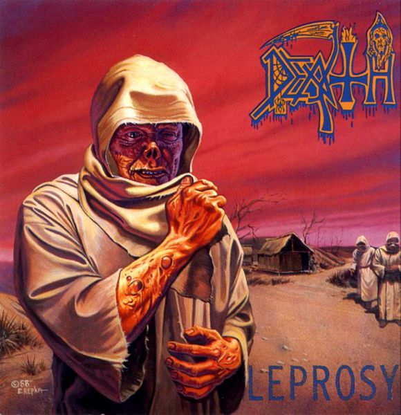 Cover DEATH, leprosy