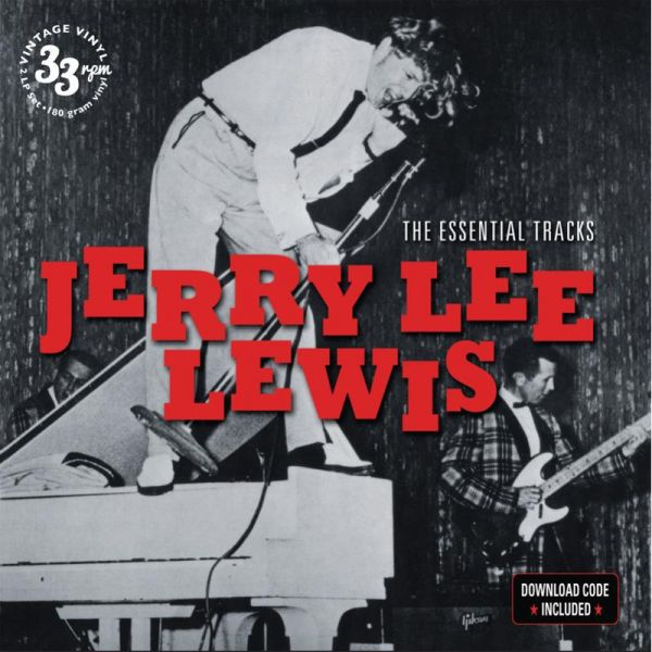 JERRY LEE LEWIS, essential tracks cover