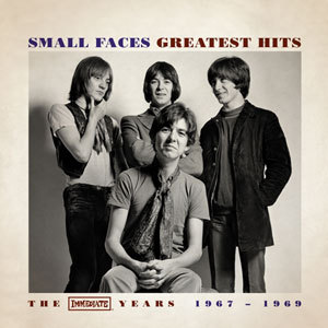 Cover SMALL FACES, greatest hits - immediate years 1967-1969