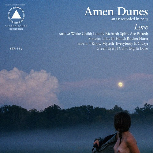 Cover AMEN DUNES, love