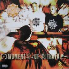 Cover GANG STARR, moment of truth