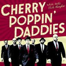 CHERRY POPPIN´ DADDIES, white teeth, black thoughts cover