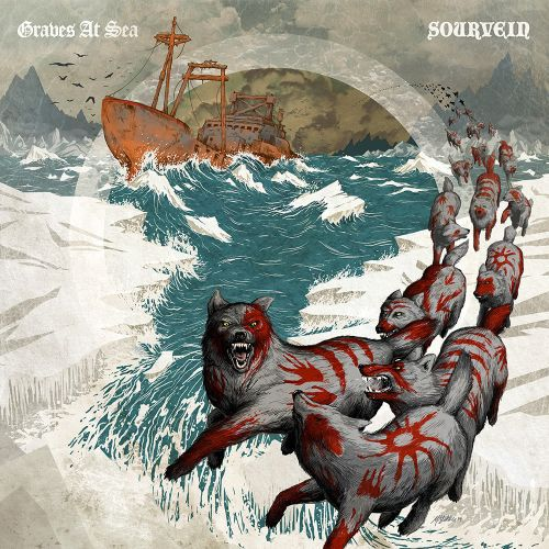 Cover GRAVES AT SEA /SOURVEIN, split