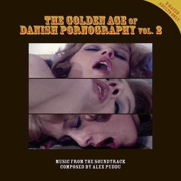 ALEX PUDDU, golden age of danish pornography 2 cover