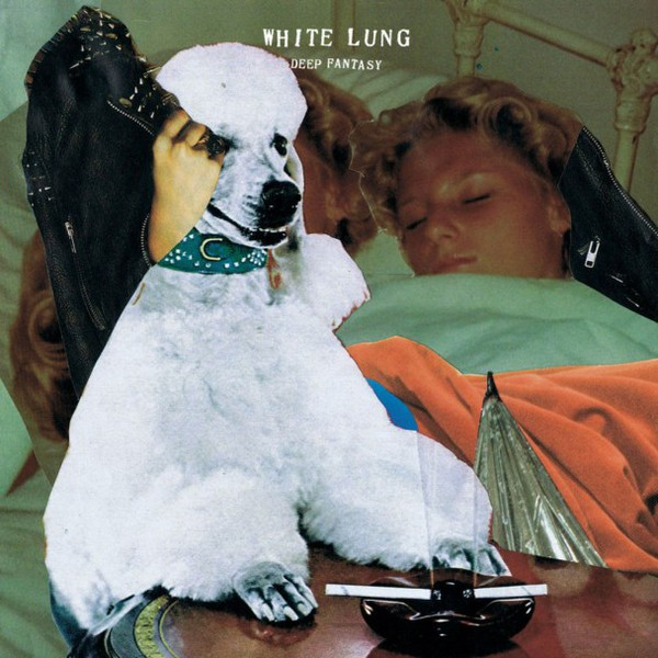Cover WHITE LUNG, deep fantasy