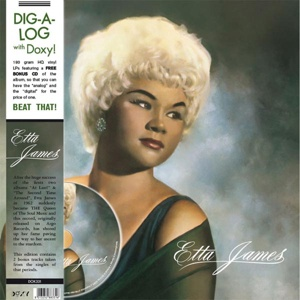 ETTA JAMES, s/t cover
