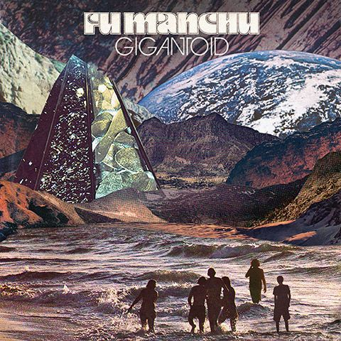 Cover FU MANCHU, gigantoid